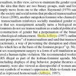 1997: TERF Academia Asserts Transition =  Political Psychiatry in the Soviet Union