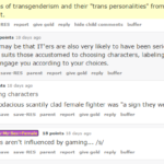#TERFLogic: video games & the internet make people trans