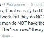 "#TERFLogic: uterine transplants won't work on trans women because they don't have ""female brains"""