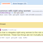#TERFLogic: Right Wing Women Are Also Radical Feminists.